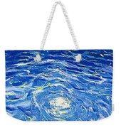 Water In The Pool Weekender Tote Bag