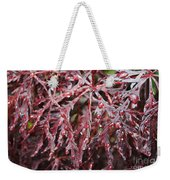 Water Leaf Weekender Tote Bag