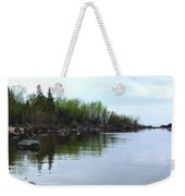 Water Like Glass Weekender Tote Bag