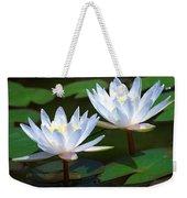 Water Lilies II Weekender Tote Bag