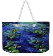 Water Lilies Magic Weekender Tote Bag