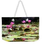 Water Lilies Tam Coc  Weekender Tote Bag