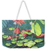 Water Lillies 1 Weekender Tote Bag