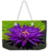 Water Lily 15-2 Weekender Tote Bag