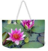 Water Lily #2 Weekender Tote Bag