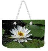 Water Lily 2 Weekender Tote Bag