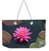 Water Lily - Afternoon Delight Weekender Tote Bag
