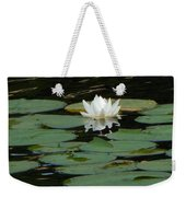 Water Lily Weekender Tote Bag