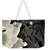 Water Lily And Fly Weekender Tote Bag