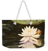 Water Lily And Pads Weekender Tote Bag