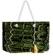 Water Lily Budd Weekender Tote Bag