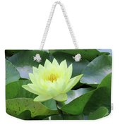 Water Lily - Burnin' Love 14 Weekender Tote Bag