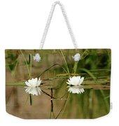 Water Lily Duet Weekender Tote Bag