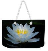 Water Lily Glow Weekender Tote Bag
