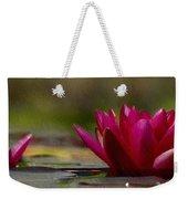 Water Lily - Id 16235-220248-4550 Weekender Tote Bag