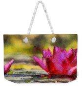 Water Lily - Id 16235-220419-3506 Weekender Tote Bag