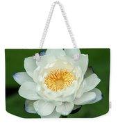 Water Lily In Bloom Weekender Tote Bag