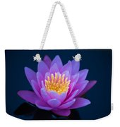 Water Lily Of The Dawn Weekender Tote Bag