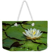 Water Lily With Friend Weekender Tote Bag