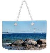 Water Line Sky Line Weekender Tote Bag