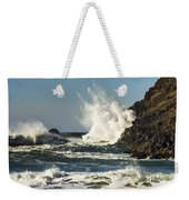 Water Meets Rock Weekender Tote Bag