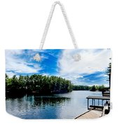 Water Mirrors Sky Weekender Tote Bag