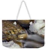 Water 'n Ice Weekender Tote Bag