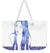 Water Nymph L Weekender Tote Bag