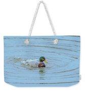 Water Off A Ducks Back Weekender Tote Bag