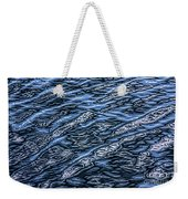 Water Pattern Weekender Tote Bag