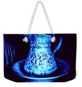 Water Pitcher And Bowl Still Life Weekender Tote Bag