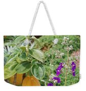 Water Plants And Flower Weekender Tote Bag