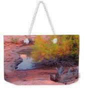 Magic Puddle At Canyon Lands Weekender Tote Bag