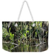Water Reeds And Spanish Moss Weekender Tote Bag