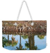 Water Reflections Weekender Tote Bag