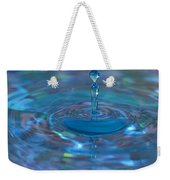Water Sculpture Neon Blue 1 Weekender Tote Bag