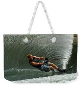 Water Skiing Magic Of Water 11 Weekender Tote Bag by Bob Christopher
