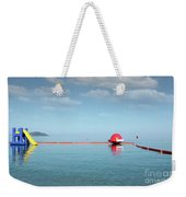 Water Slide Seascape Summer Vacation Scene Weekender Tote Bag