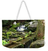 Water Sluice  Weekender Tote Bag