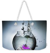 Water Splash  Weekender Tote Bag
