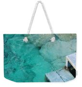 Water Steps Weekender Tote Bag