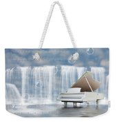 Water Synphony For Piano Weekender Tote Bag
