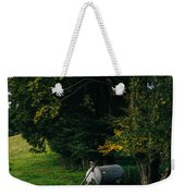 Water Tank In A Pasture Weekender Tote Bag