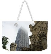 Water Tower And Hancock Weekender Tote Bag
