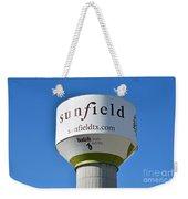 Water Tower - Sunfield Texas  Weekender Tote Bag