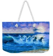 Water Unicorns Weekender Tote Bag