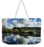 Water Vapour On A Mirror Weekender Tote Bag