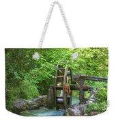 Water Wheel In The Woods Weekender Tote Bag