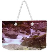 Water Winding Through Rocks Weekender Tote Bag