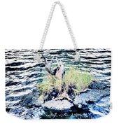 Water Woodwork Weekender Tote Bag